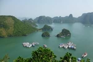 从北海跟团去越南旅游:越南下龙湾、河内四日游多少钱