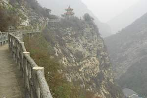 西安渭南少华山国家森林公园赏冰挂大巴往返一日游