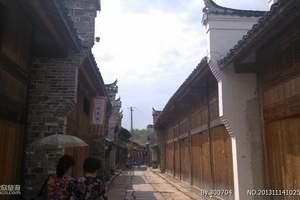 西安中旅西安到宁陕苍龙峡·五郎关公园·城隍庙·老街一日游