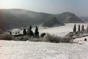 重庆仙女山跟团滑雪游,仙女山森林公园 世界遗产天坑三桥一日游