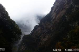 西安周末度假游 西安周边景点推荐 少华山国家森林公园一日游