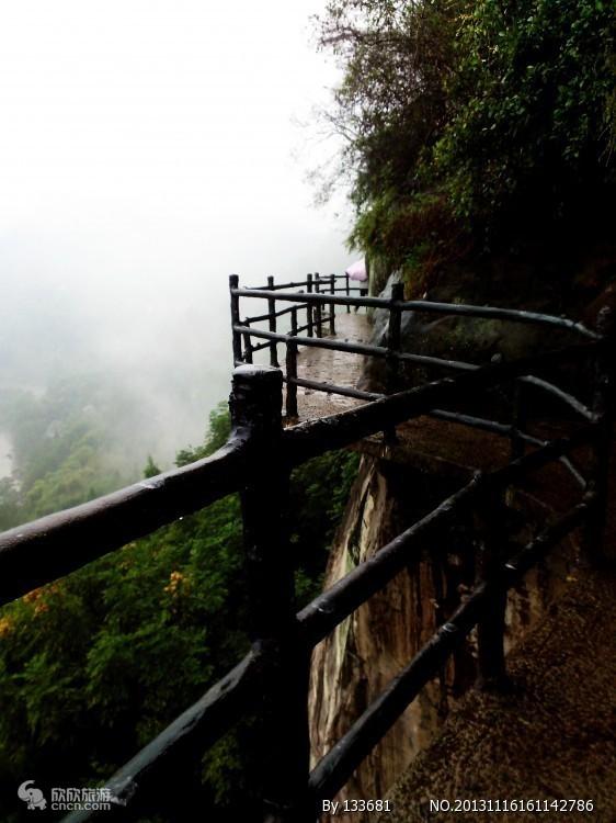 三峡万州大瀑布景区栈