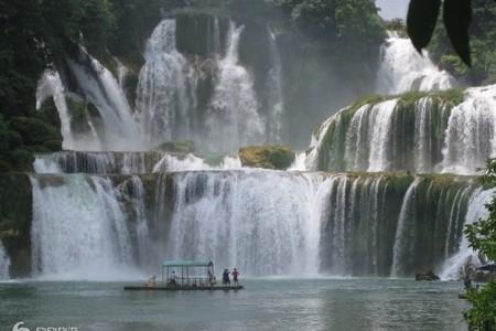 看瀑布的季节-靖西德天跨国大瀑布汽车1日游(赠送特色晚餐)