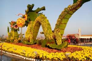 龙亭--菊花文化节主会场,六朝皇宫遗址