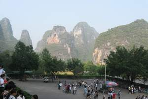 上海出发到桂林漓江、北海银滩、涠洲岛双飞6日