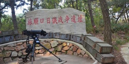 东鸡冠山日俄战争遗址