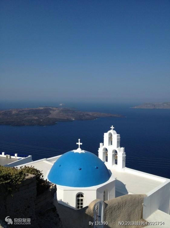 青岛到欧洲旅行线路 青岛到欧洲法意瑞 希腊圣托里尼14天tj
