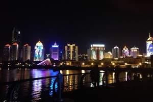 青岛适合情侣旅游的地方,夜游一票通一日游,乘蓝海明珠