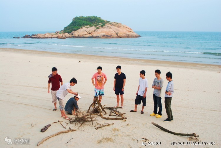 公司团体旅游两日游 深圳周边旅游 惠东巽寮湾 出海捕鱼2日
