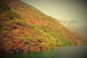 〈人车同游看三峡〉新高湖游船、赏三峡红叶二日游