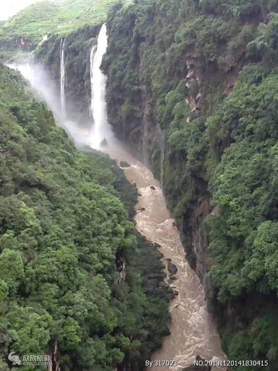 马岭河峡谷图片
