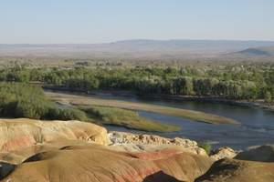 常德出发 新疆天山天池、吐鲁番、坎儿井、库姆塔格沙漠双飞6天