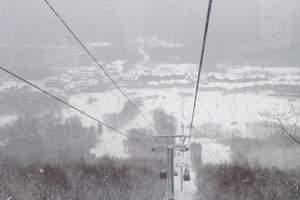 吉林长春到长白山万达滑雪场交通以及各套餐费用