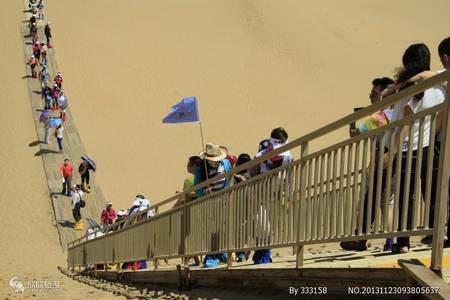 去沙漠旅游_5A级景区响沙湾一日游_包车自由行纯玩
