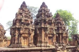 柬埔寨金边+吴哥6天5晚深度游(两地三飞,不走回头路)