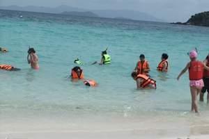 东莞到印尼美娜多、出海浮潜 双飞五天游