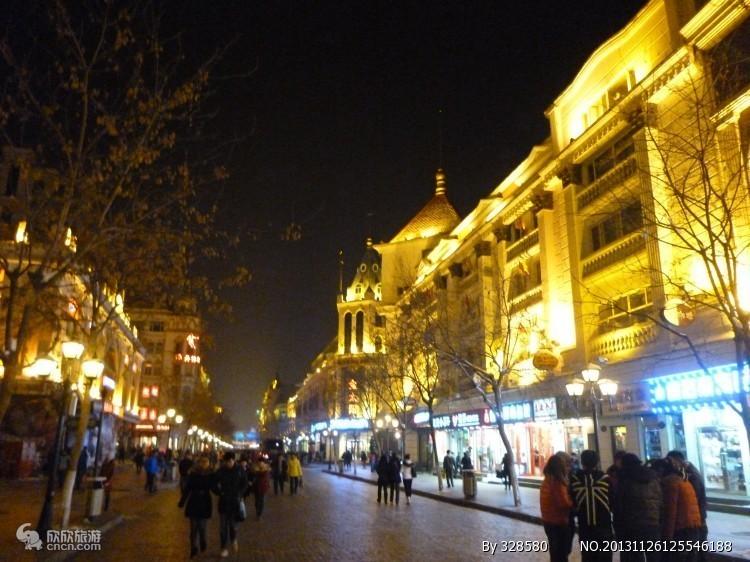 中央大街步行街图片