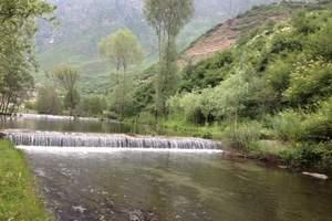 7月冶力关天气 冶力关冶海、赤壁幽谷、渭河源二日游
