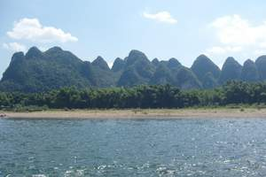 桂林三山一洞一公园、阳朔、北海银滩双飞六日精品纯玩游