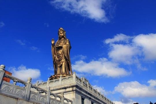 宁波出发到海天佛国普陀山一日游_宁波到普陀山组团社 普陀旅游