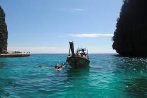 青岛到普吉岛7日游 天堂湾 情人蜜月沙滩 浮潜海鲜自助餐tj