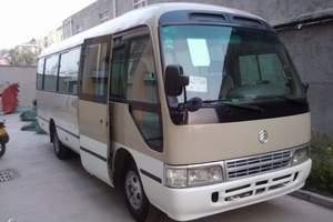 新疆乌鲁木齐22座考斯特对外旅游包车