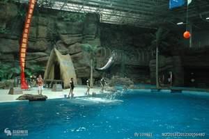 杭州极地海洋公园湘湖金沙滩亲子一日游  杭州周边春游秋游