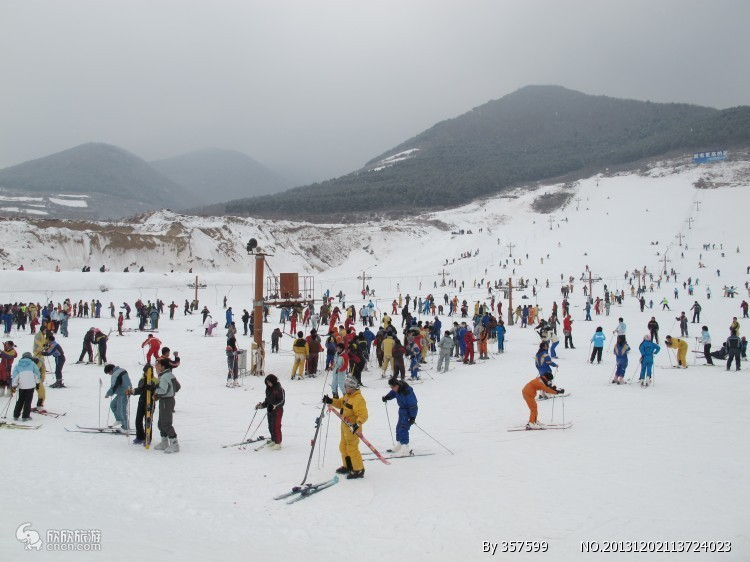 青岛金山滑雪场
