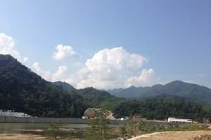 西安到宁陕旅游 西安出发宁陕旅游 秦岭峡谷漂流一日游