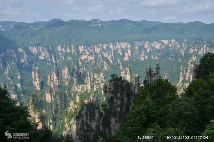 天子山西海石林