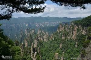 张家界森林公园(天子山、十里画廊、金鞭溪、袁家界)双卧四日