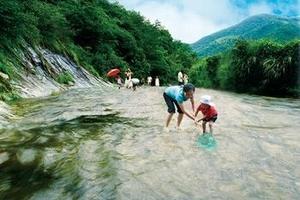 宁波企业学校组团旅游---宁波海上长城森林公园亲子活动一日游