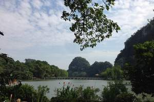 (广州去肇庆旅游团)七星岩、宋城墙、波海公园一天,纯玩无购物