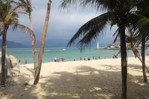 泰安春节放假三亚旅游  海南分界洲 凤凰岭海岛海口双飞6天