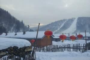 北京到东北旅游;哈尔滨雪乡双卧五日游
