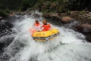 宁波企业学校组团旅游---采摘杨梅��北溪漂流一日_夏季漂流