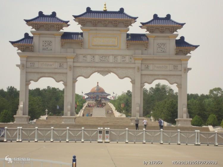 成吉思汗陵图片
