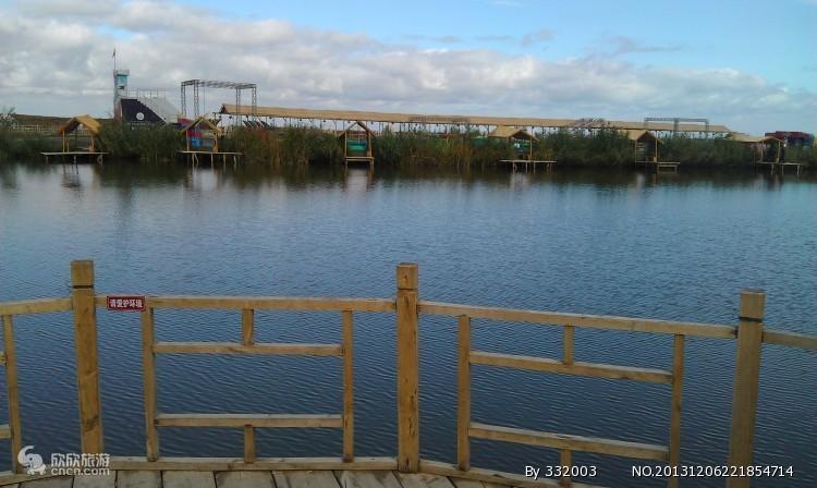 博斯腾湖大河口