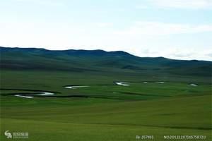 穿越边境线、呼伦贝尔草原、大兴安岭原始森林、满洲里环线四日游
