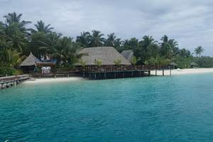 重庆到马尔代夫自由行_攻略重庆直飞马尔代夫五星岛屿_水上别墅