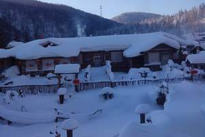 亚布力滑雪+雪乡自由行小包团两日游(住独立卫浴 玩冰雪画廊)