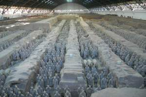 北京出发西安 秦始皇兵马俑 乾陵 法门寺 双卧 五日游