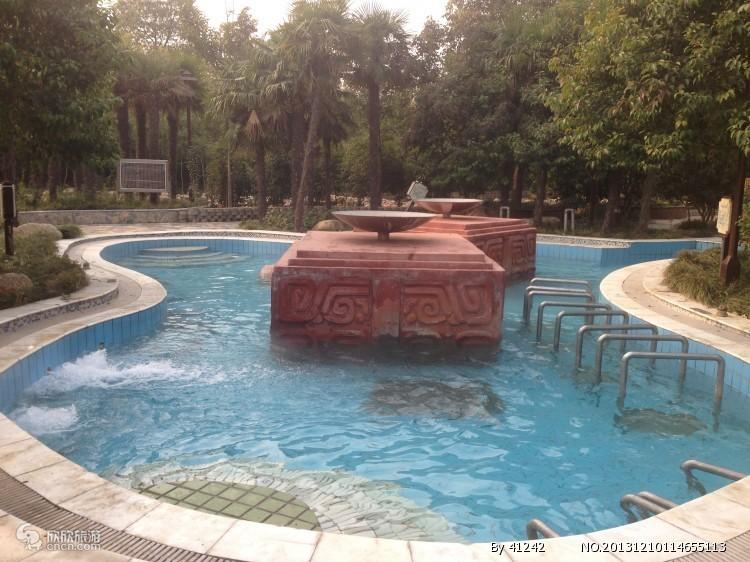 皇姑浴温泉图片