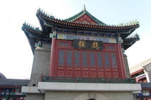 古文化街戏楼全景