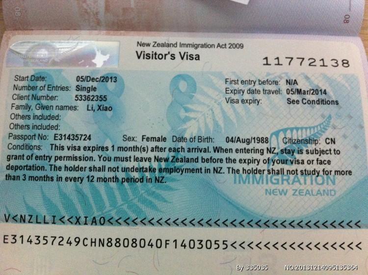 新西兰的签证好办吗【相关词_ 新西兰旅游签证