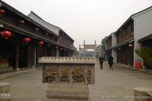 绍兴安昌古镇+杭州湾温泉世界一日游