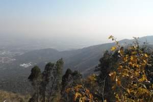 香山俯瞰北京