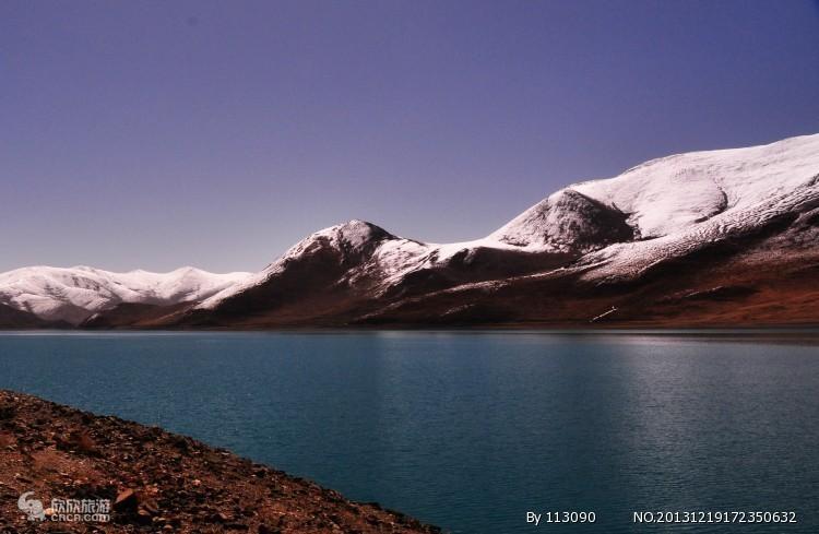 然乌湖图片