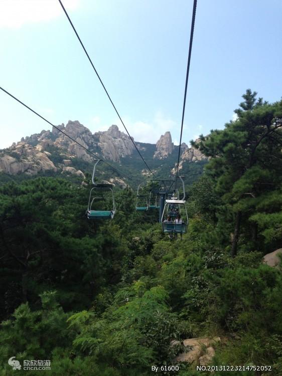 区(或仰口风景区 游览约2小时左右),可自行爬山或乘坐索道空中观山海