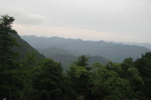 西安到太白山旅游报价_太白山、周至水街、庵岭古镇二日游